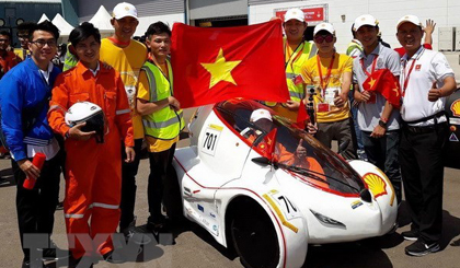 Win for Lac Hong University at Shell Eco-marathon Asia