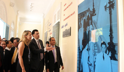 Exhibition highlights historical values of Doc Lap Palace