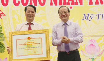 Nguyen Dinh Chieu High School marks 139th anniversary of establishment
