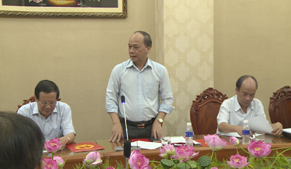 Deputy Minister of MARD works with Tien Giang province