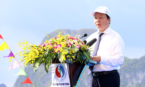 Vietnamese minister calls for protection of marine environment