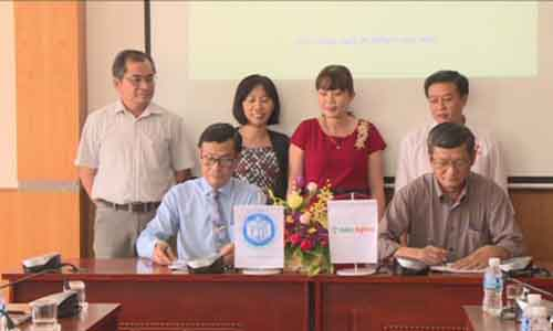 Tien Giang University signs a cooperation agreement with Hoang Anh Gia Lai Group