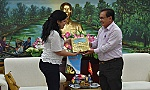 Standing Deputy Secretary of the Provincial Party Committee receives Granma Newspaper Editor-in-Chief of
