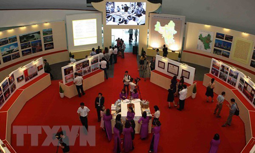 An exhibition space of the Hanoi Museum (Photo: VNA)