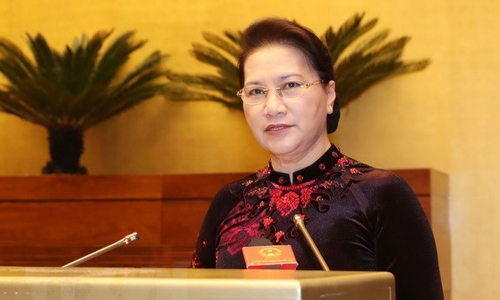 National Assembly Chairwoman Nguyen Thi Kim Ngan (Photo: VNA)