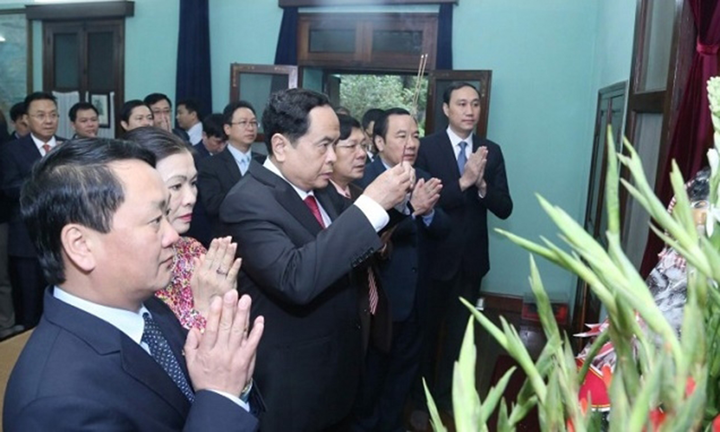VFF President pays tributes to Uncle Ho at House No. 67