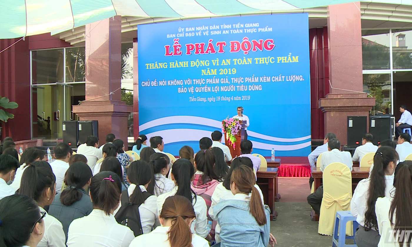 Action month for food safety 2019 launched - Báo Ấp Bắc điện tử