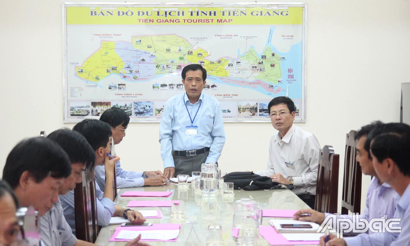 Meeting to implement the 4th ancient village of Dong Hoa Hiep festival in 2019
