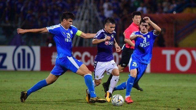 Quang Hai inspires Hanoi to narrow home win over Altyn Asyr