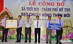 Tien Giang province has more two new rural communes