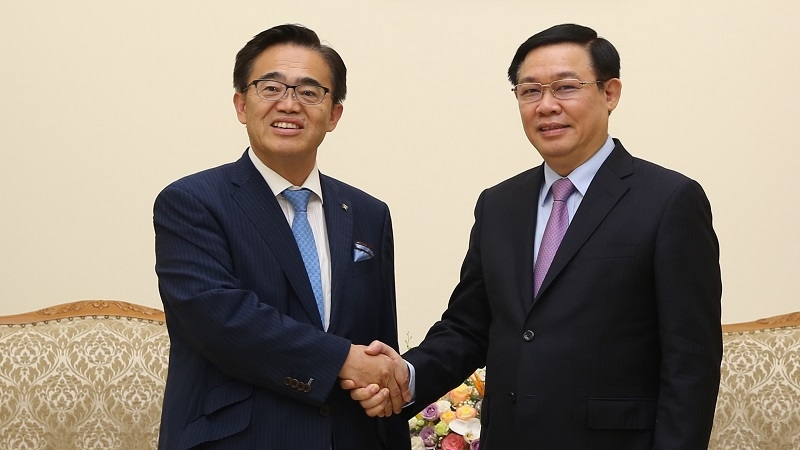 Deputy PM receives Governor of Japan's Aichi prefecture