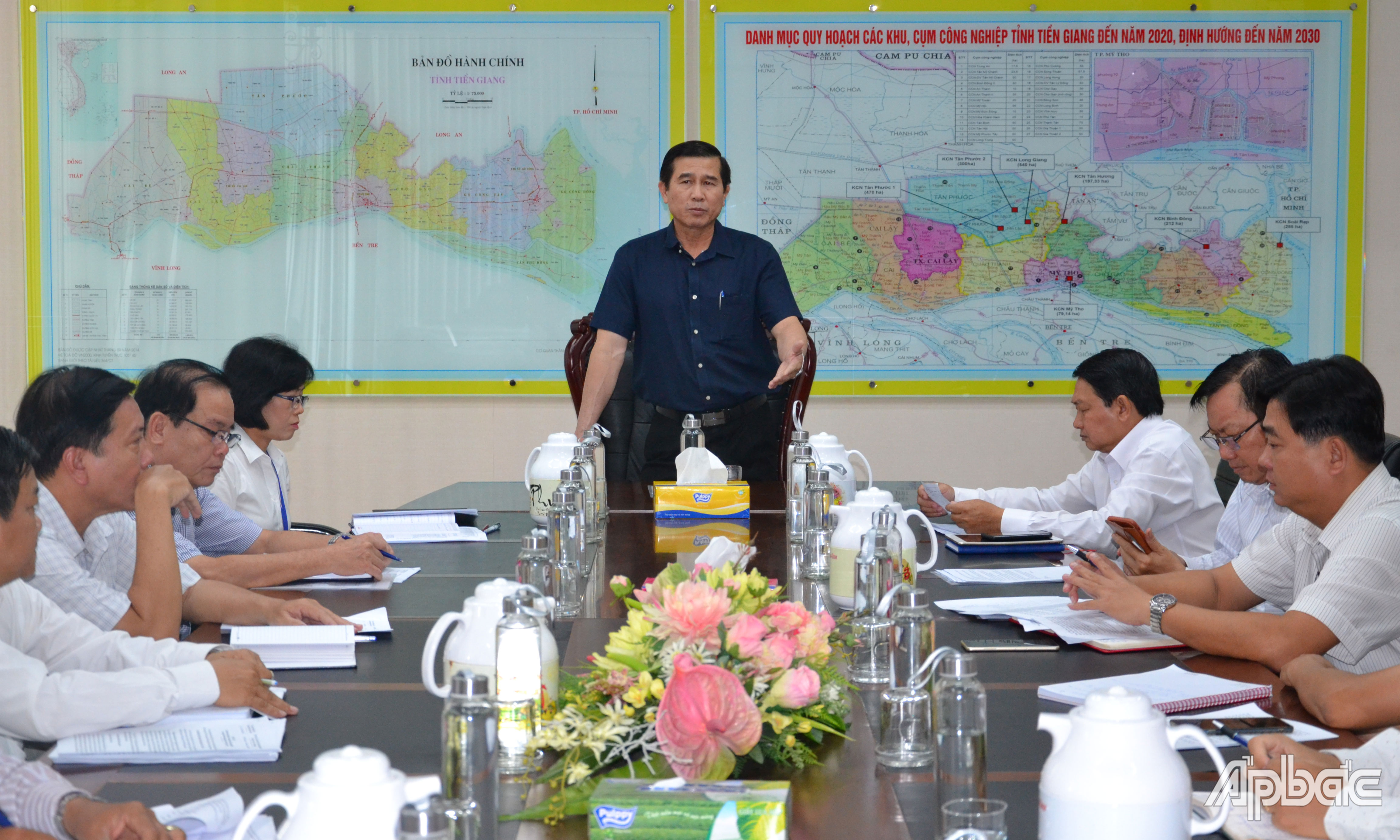 The progress of each project must be set up, Chairman of the PPC Le Van Huong urged