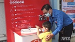 Tien Giang Youth Union installs a hand washing station