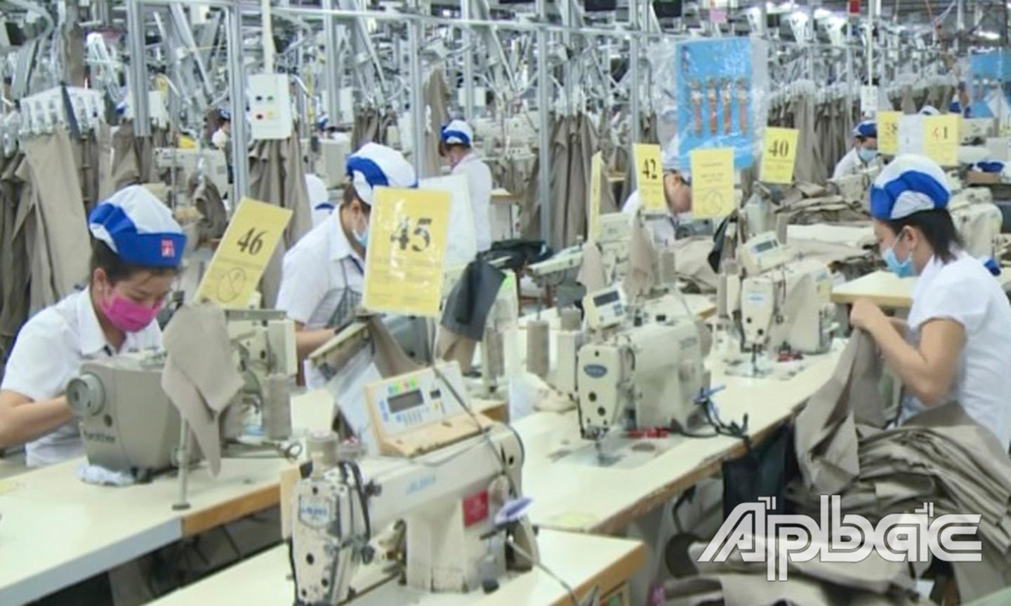 Tien Giang's industrial production index increased 6.1 percent in the first quarter