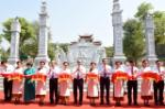PM cuts ribbon to launch temple dedicated to late President's ancestors