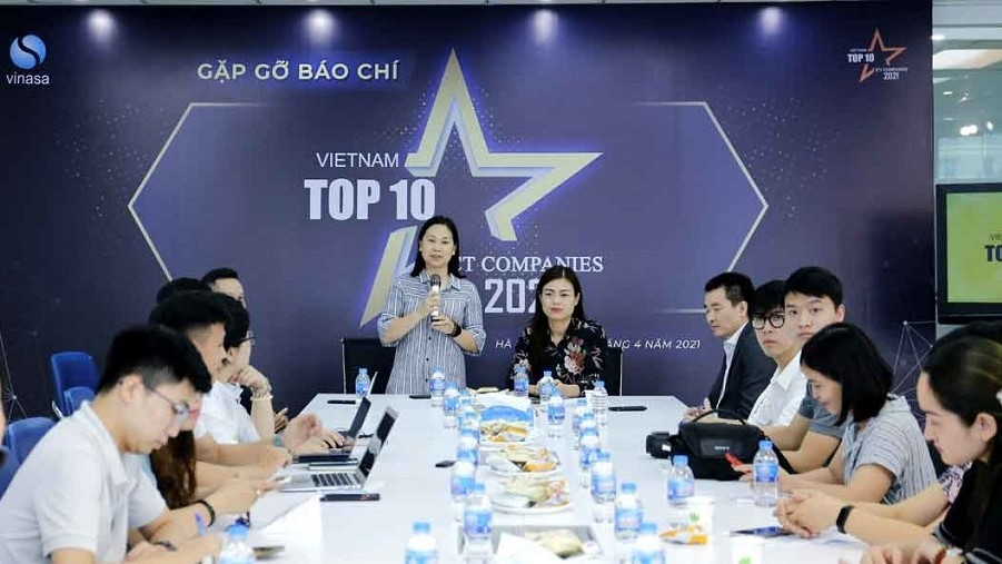 The Vietnam Software and IT Services Association (VINASA) launched Vietnam's top 10 ICT businesses 2021 programme on April 7.